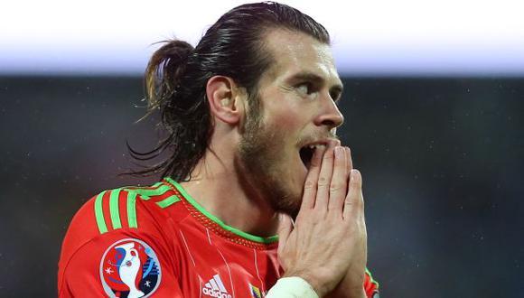 Gareth Bale logró la histórica clasificación con Gales a una Eurocopa en 2016. (Foto: AFP)