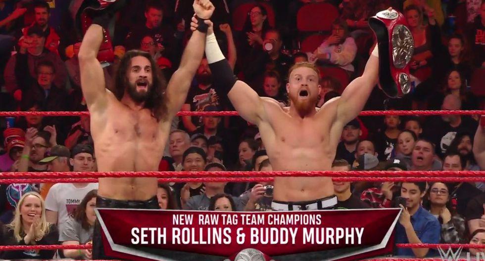 Con Seth y Murphy celebrando: repasa todos los resultados del Raw previo a Royal Rumble 2020