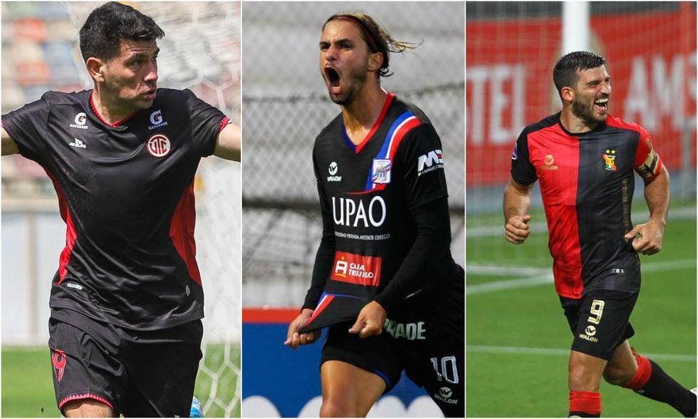 Los goleadores de la Fase 2 nacieron en el Rio de La Plata.  (Fotos: Liga 1)