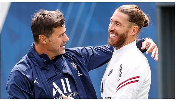 Sergio Ramos firmó por dos temporadas con el club francés. (Foto: PSG)