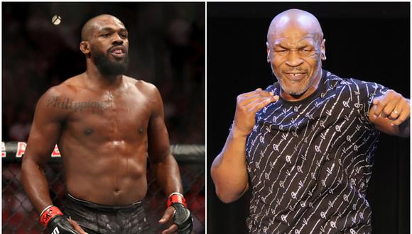 Jon Jones y Mike Tyson podrían verse las caras en un futuro. (Foto: Getty Images)