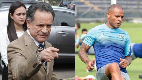 Freddy Ames y el dardo a Alianza Lima. (Foto: Liga 1 / prensa AL)