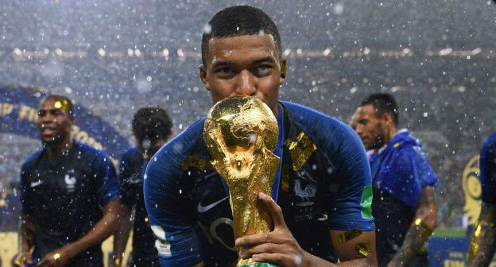 Kylian Mbappé resultó como el Mejor Jugador Joven en Rusia 2018. (Foto: AFP)