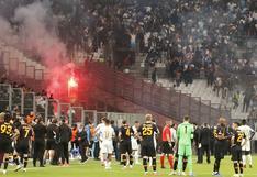 De nunca acabar: proyectiles y violencia en el Marsella vs. Galatasaray por Europa League [VIDEO]