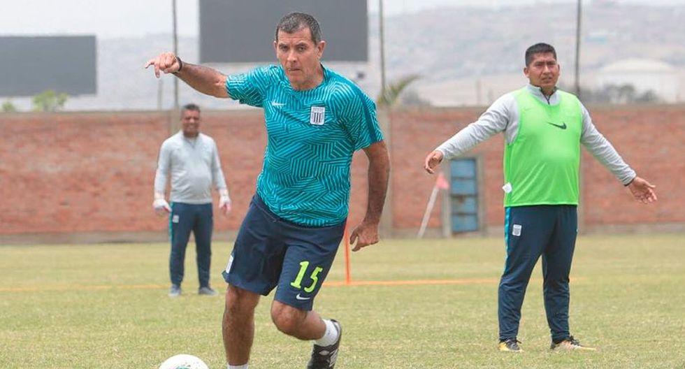 Bengoechea participó en partido de práctica de Alianza Lima (Difusión)