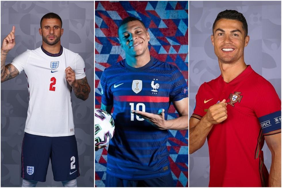 El XI ideal de la Eurocopa 2021 si solo se pudiese elegir un jugador por selección. (Getty)