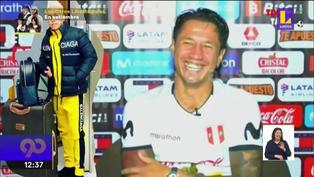 Gianluca Lapadula asegura que es el mejor bailarín de la selección peruana
