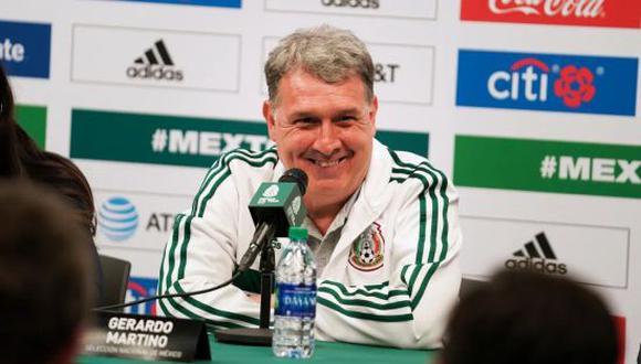 Gerardo Martino ganó la Copa de Oro 2019 con la Selección Mexicana de Fútbol. (Foto: Twitter)