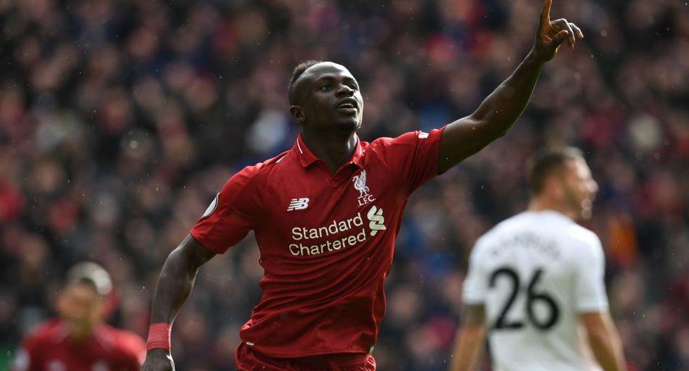 Sadio Mané está valorizado en 85 millones de euros. (AFP)