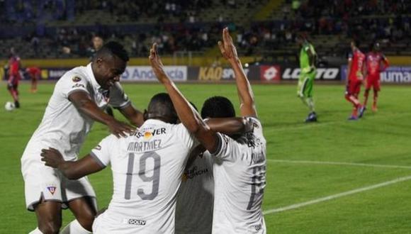 Liga de Quito goleó a El Nacional en el estadio Atahualpa por la jornada 3 de Liga Pro de Ecuador 2020.