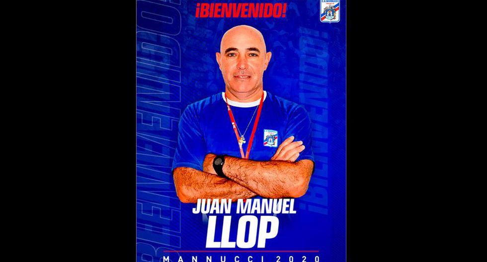 Juan Manuel Llop es el nuevo entrenador de Carlos Mannucci. (Foto: Prensa Carlos Manucci)