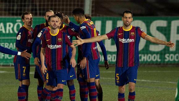 Barcelona vs. Cornellá por los 16avos de final de la Copa del Rey. (Foto: Reuters)