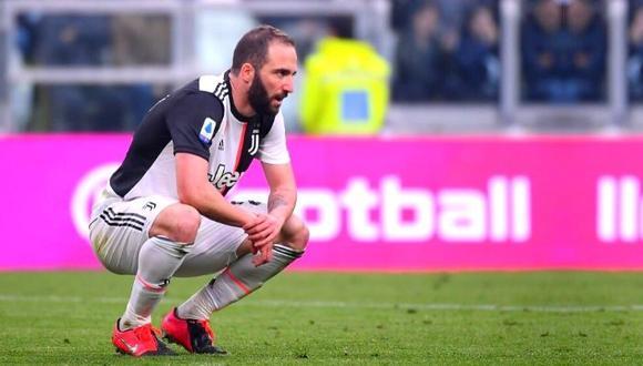 Gonzalo Higuaín dejó la Juventus en el pasado mercado de fichajes. (AP)