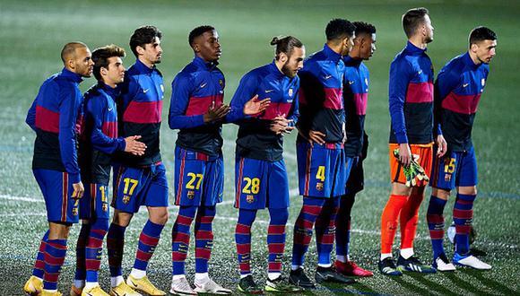 Barcelona marcha tercero en la tabla de posiciones de LaLiga. (Getty)