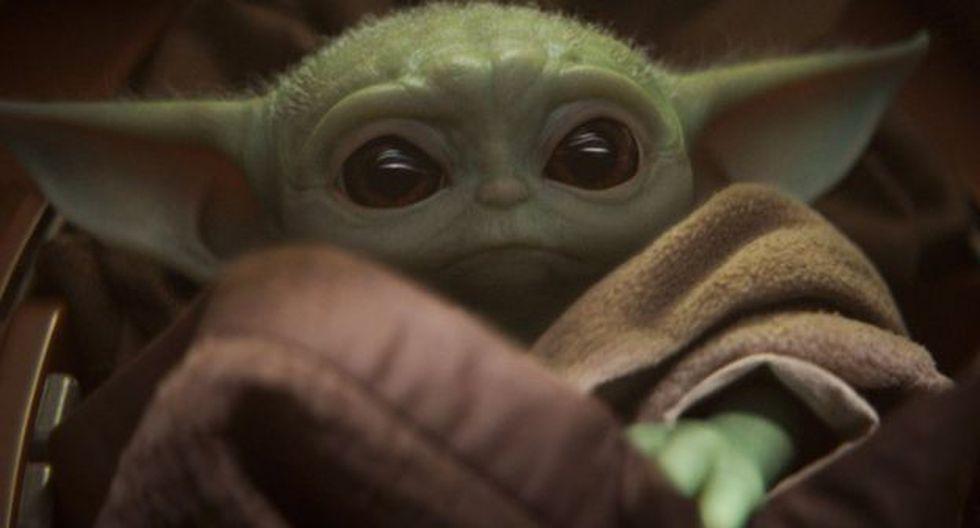 """Bebe Yoda fue presentado hace tres semanas en el estreno de la serie de Disney+ """"The Mandalorian"""", de Star Wars, y se ha robado el corazón de todos. Foto: Disney"""