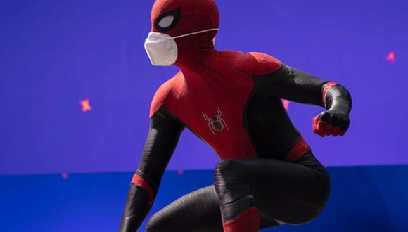 Spider-Man 3 al detalle: Tom Holland comparte primera foto del rodaje. (Foto: Tom Holland)