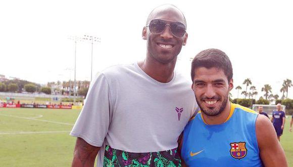 El mensaje de Luis Suárez tras el fallecimiento de Kobe Bryant. (Twitter)