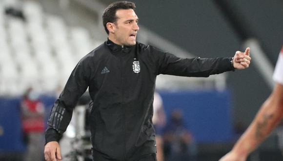Lionel Scaloni analizó la situación de la selección argentina. (Foto: Reuters)