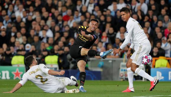 Real Madrid cayó 1-2 ante el Manchester City en la ida de octavos de Champions League en el Bernabéu. (Foto: AFP)