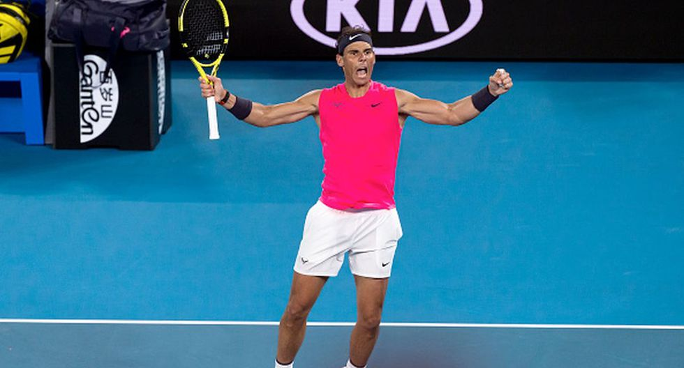 Rafa sigue firme en el primer Grand Slam del año. (Foto: Getty Images)