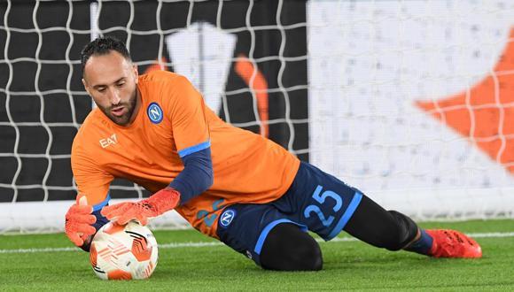 Ospina es figura en Napoli que rescató un punto ante Leicester. (Foto: Napoli)