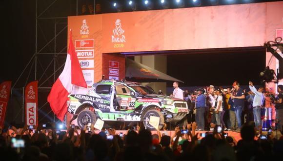 El Dakar 2019 se correrá exclusivamente en Perú. (Jesus Saucedo)
