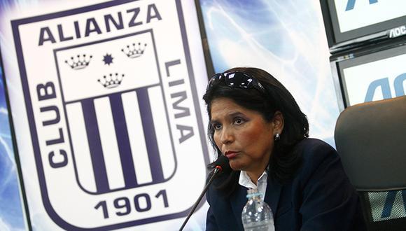 Susana Cuba habló del nuevo administrador de Alianza Lima. (Foto: GEC)