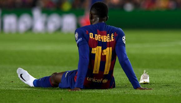 Ousmane Dembélé lleva 10 goles en lo que va de la temporada. (Foto: AFP)