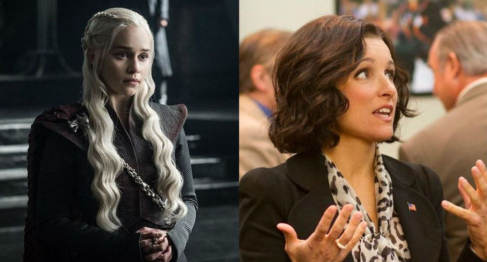 """Game of Thrones"" y ""Veep"" se despiden este año de los Emmy. (Foto: Facebook)"
