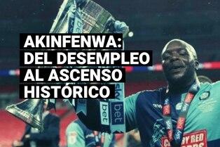 La historia de Adebayo Akinfenwa, el jugador de más de 100 kilos que emocionó al mundo