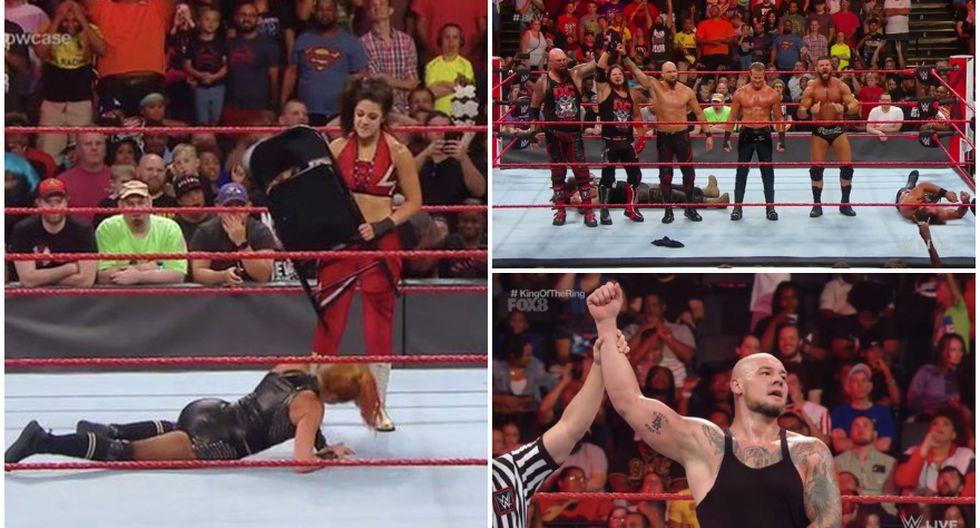 Resultados del Raw de Baltimore. (WWE)