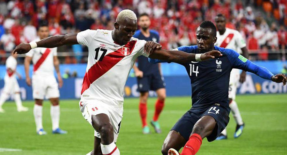La confesión de Matuidi sobre el partido de Francia ante Perú (Foto: AFP).