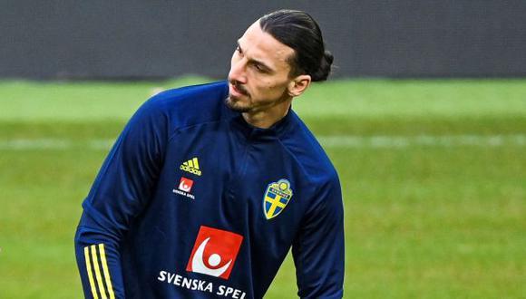 Ibrahimovic jugará las Eliminatorias con 40 años. (Foto: AFP)