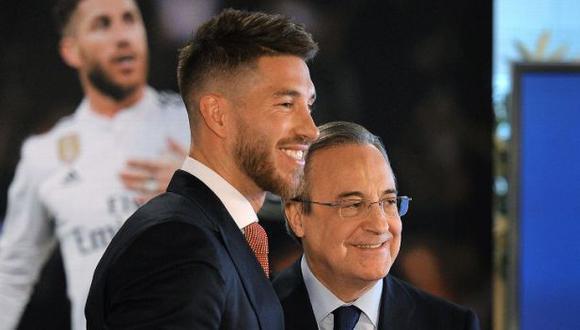 Sergio Ramos dejó el Real Madrid este jueves tras 16 años en el club. (Foto: EFE)