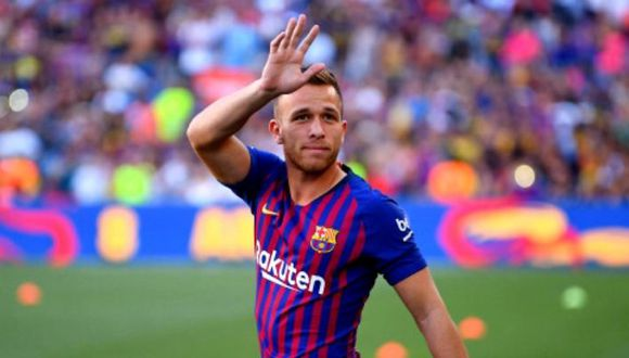 Arthur jugará la próxima temporada en la Juventus. (Foto: AFP)