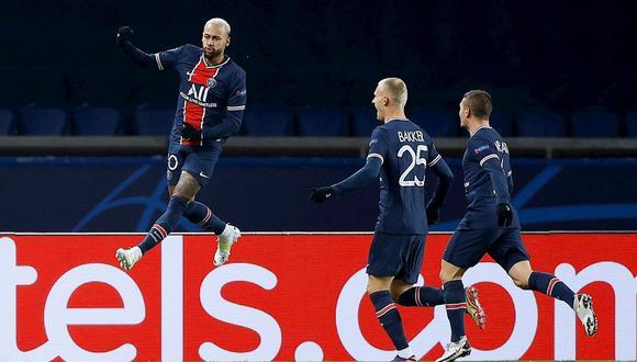 De la mano de Neymar, PSG se quedó con el Grupo H de la Champions League. (Foto: EFE)
