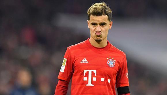 Coutinho jugará su último partido con Bayern Munich en la final de la Champions League ante PSG.