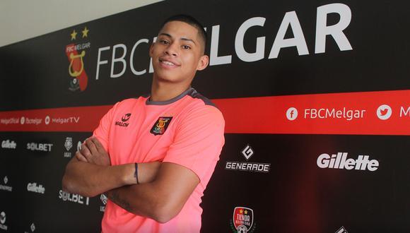 Kevin Quevedo espera brillar con Melgar para un futuro llamado de la Selección Peruana. (Foto: @MelgarOficial)