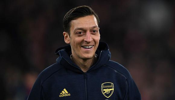 El contrato de Özil expira al final de la presente temporada. (Getty)