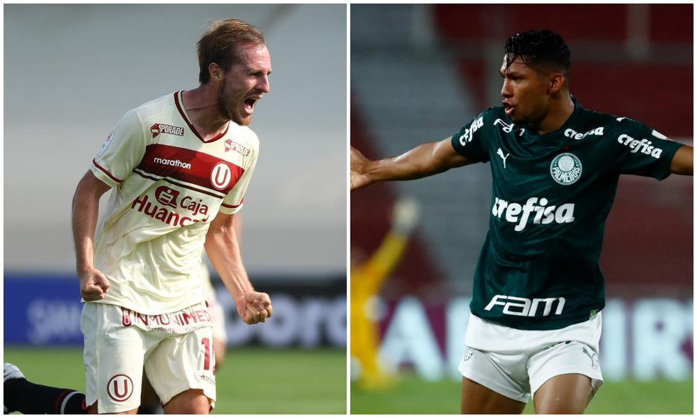 Universitario y Palmeiras se enfrentarán por el debut en la fase de grupos de la Copa Libertadores 2021. (Fotos: Agencias)