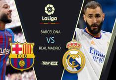 STAR+ EN VIVO: Barcelona vs Real Madrid EN DIRECTO por el 'Clásico español' de LaLiga Santander