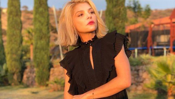 Itatí Cantoral lista para retomar las grabaciones de su nueva telenovela. (Foto: Instagram @itatic_oficial)