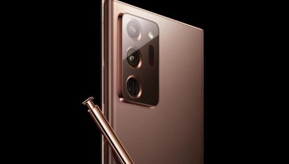 Samsung Galaxy Note 20 Ultra al detalle: se filtra presunto diseño final del nuevo móvil. (Foto: captura)