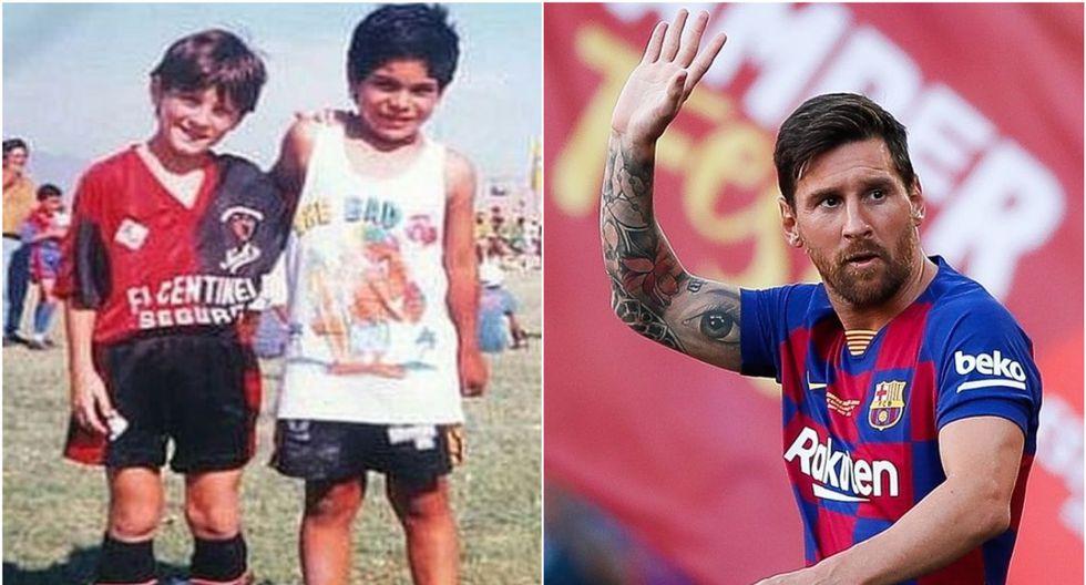 Lionel Messi llegó al Barcelona cuando tenía 13 años. (Internet)