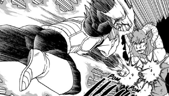 Pelea de Vegeta contra Moro (Dragon Ball Super)