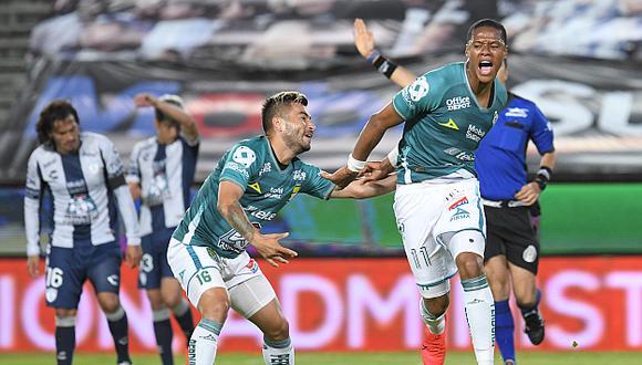 León vs. Pachuca se enfrentaron por la Liga MX. (Foto:Agencias)