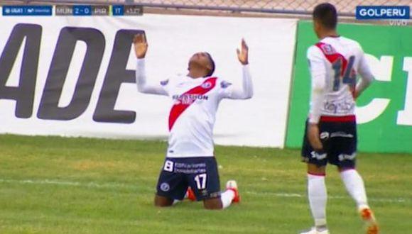 Daniel Cabrera anotó el segundo gol a favor de Deportivo Municipal