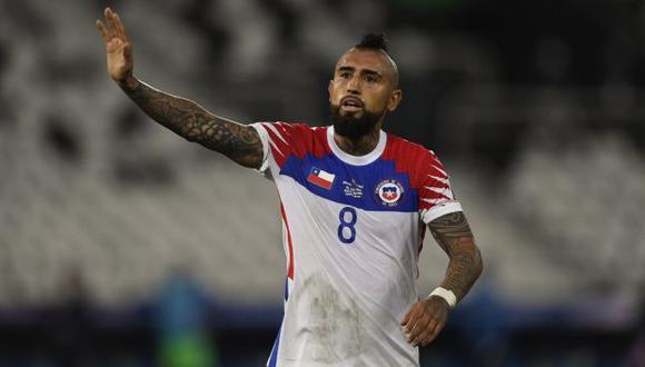 Arturo Vidal no jugará ante Perú por suspensión. (Foto: AFP)