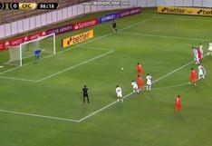 Terrible definición: Yorleys Mena falló el penal que pudo ser el 1-0 de César Vallejo vs. Caracas F.C. [VIDEO]