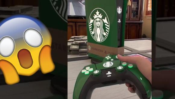 PS5 Edición Starbucks te sirve café y causa sensación en redes sociales